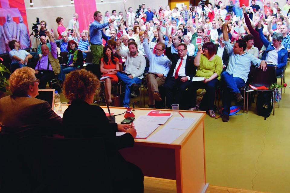 Congresso PS cantonale a Manno