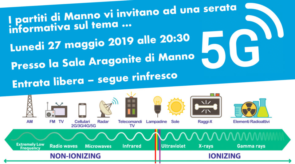 Serata informativa 5G Manno