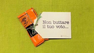 Non buttare il tuo voto…